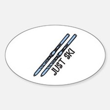 Just Ski Decal