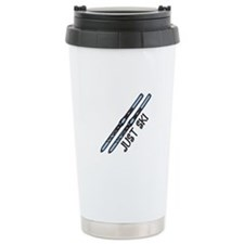 Just Ski Travel Mug