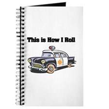 How I Roll (Police Car) Journal