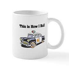 How I Roll (Police Car) Mug