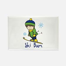 Ski Bum Magnets