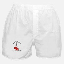 You Cant Hide but you can't hide Boxer Shorts