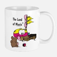 Susie playing piano Mug