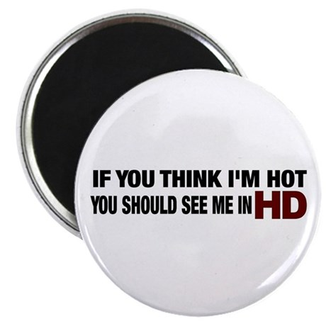 "HD HOT 2.25"" Magnet (10 pack)"