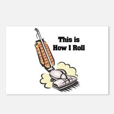 How I Roll (Vacuum Cleaner) Postcards (Package of