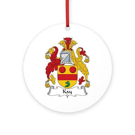 Kay Ornament (Round)