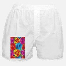 Colorful Flowers Boxer Shorts