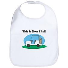 How I Roll (Golf Cart) Bib