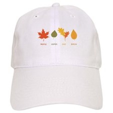 Fall Tree Leaves Baseball Baseball Cap
