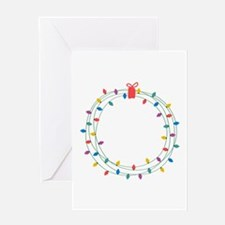 Wearth Of Lights Greeting Cards