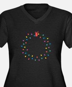 Wearth Of Lights Plus Size T-Shirt
