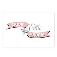 Bride Groom Postcards (Package of 8)