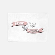 Bride Groom 5'x7'Area Rug