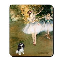 2 Dancers & Tri Cavalier Mousepad