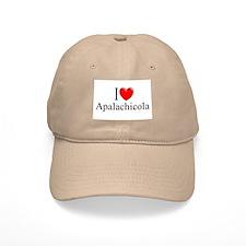 """I Love Apalachicola"" Baseball Cap"