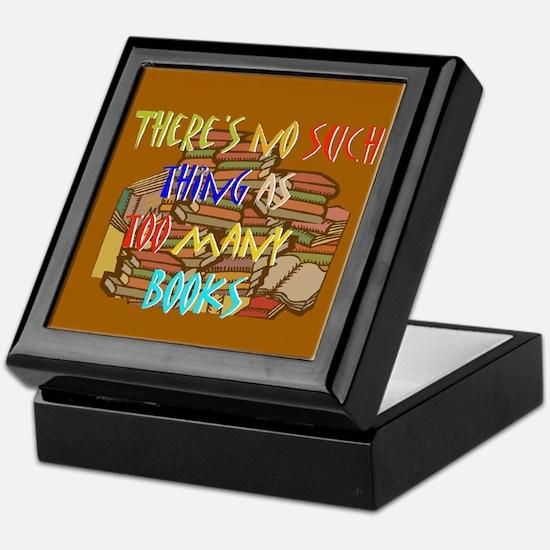 Deluxe Bookplate Storage Box Keepsake Box