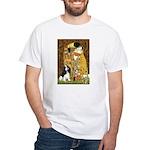 The Kiss & Tri Cavalier White T-Shirt