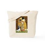 The Kiss & Tri Cavalier Tote Bag