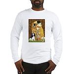 The Kiss & Tri Cavalier Long Sleeve T-Shirt