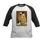 The Kiss & Tri Cavalier Kids Baseball Jersey