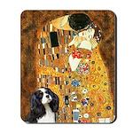 The Kiss & Tri Cavalier Mousepad