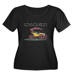 How I Roll (Old-Fashioned Car/Buggy) T