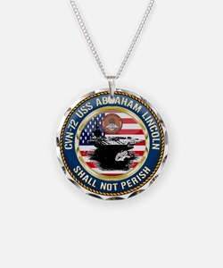 CVN-72 USS Abraham Lincoln Necklace