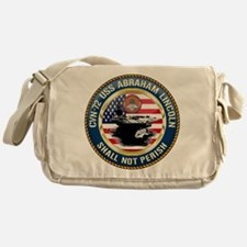CVN-72 USS Abraham Lincoln Messenger Bag