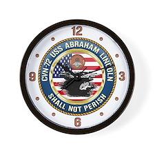 CVN-72 USS Abraham Lincoln Wall Clock