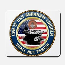CVN-72 USS Abraham Lincoln Mousepad