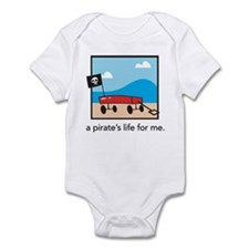 a pirate's life for me Infant Bodysuit
