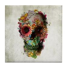 Skull 2 Tile Coaster