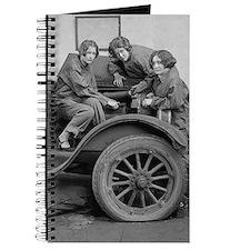 Cute Womens retro Journal