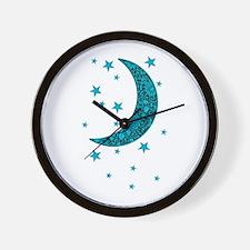 Cute Stars Wall Clock