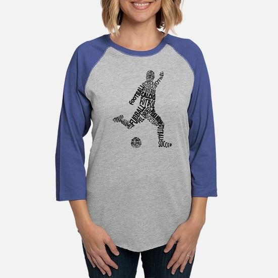 Soccer Football Languages Long Sleeve T-Shirt