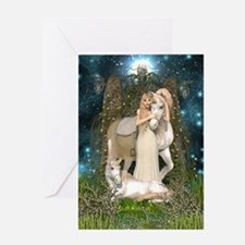 Princess of Unicorns Greeting Card