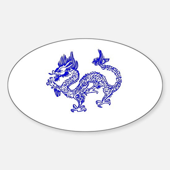 Dragon Blue by designeffects Decal