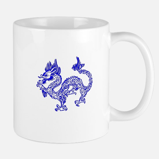 Dragon Blue by designeffects Mugs