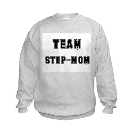 TEAM STEP-MOM Kids Sweatshirt