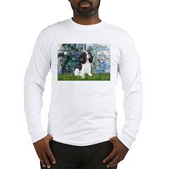 Llilies (1) & Tri Cavalier Long Sleeve T-Shirt