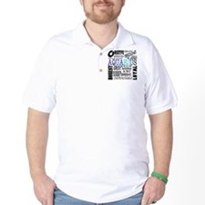 Aquarius Subway Art T-Shirt