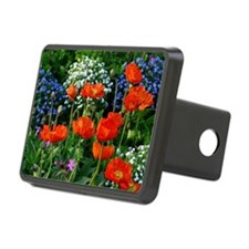 Colorful Flower Bed with R Hitch Cover