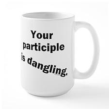 Dangling Participle Mug