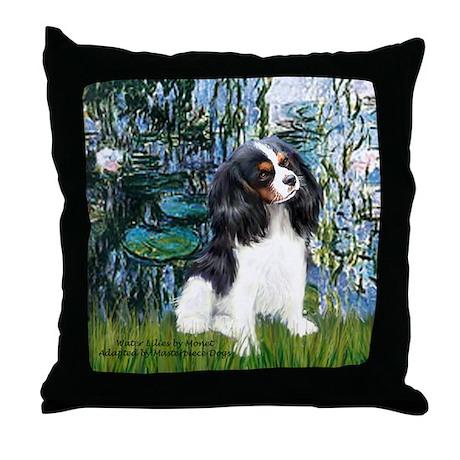 Llilies (1) & Tri Cavalier Throw Pillow