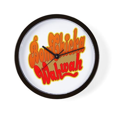 Bom Chicka Wah Wah Wall Clock