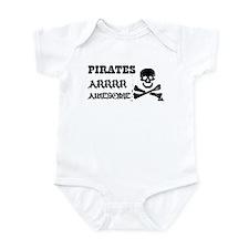 Pirates Arrr Awesome Infant Bodysuit