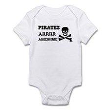Pirates Arrr Awesome Onesie
