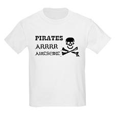 Pirates Arrr Awesome T-Shirt