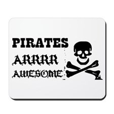 Pirates Arrr Awesome Mousepad