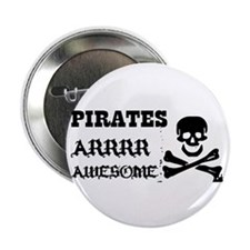 Pirates Arrr Awesome Button